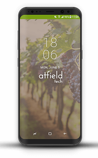Atfield mobile app