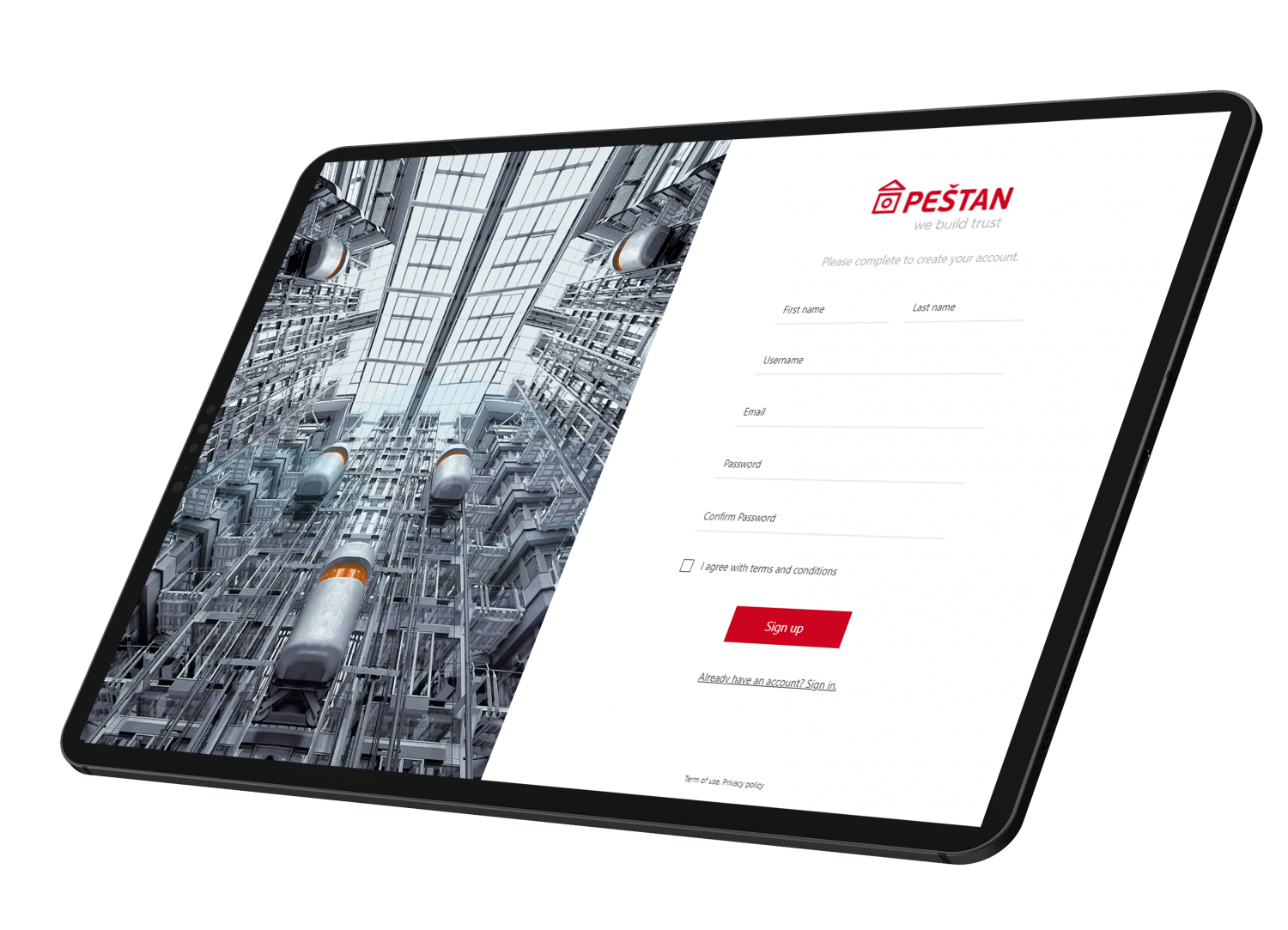 Peštan android mobile app development